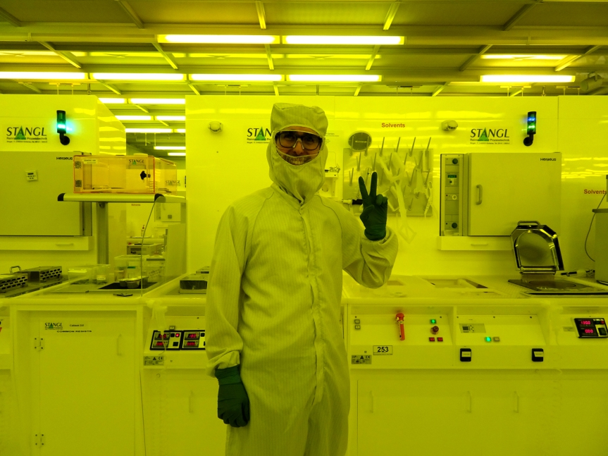 Read about WACQT's cleanroomactivities
