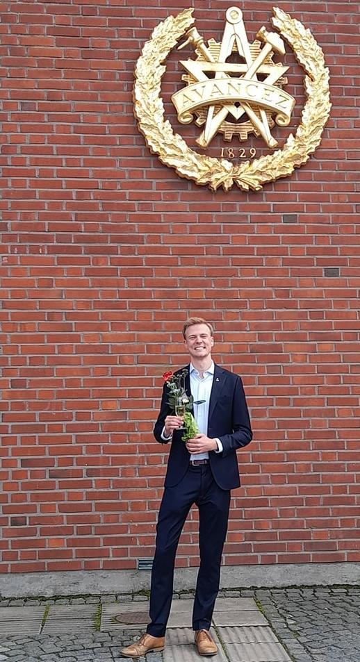 Congrats Johan!